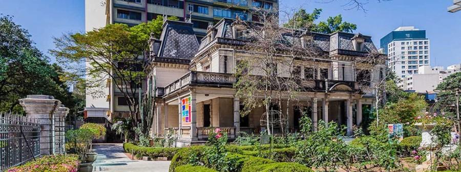 A Casa das Rosas fica na Avenida Paulista (Foto: Divulgação)