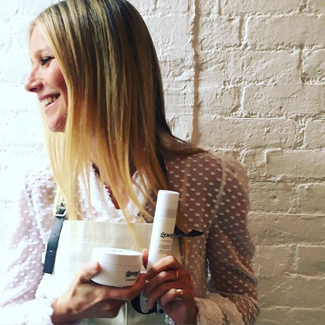 Gwyneth colabora com o site Goop (Foto: Reprodução/Instagram)