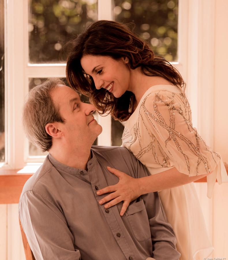 """Daniel Dantas e Melissa Vettore em cena de """"Isadora"""" (Foto: João Caldas)"""