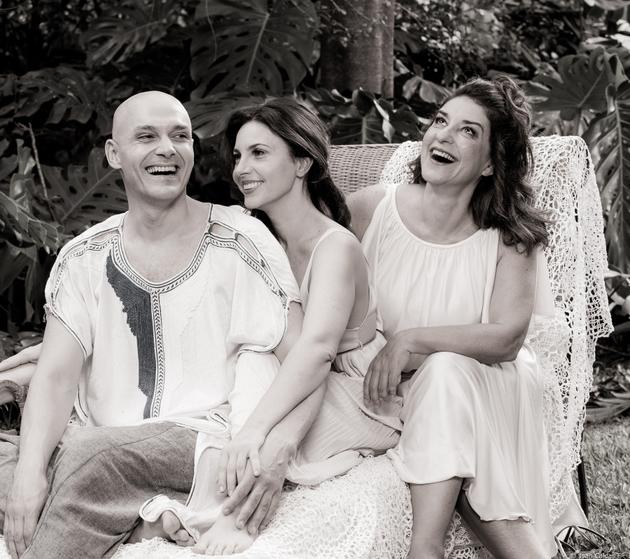 Roberto Alencar, Melissa Vettore e Patrícia Gasppar (Foto: João Caldas)