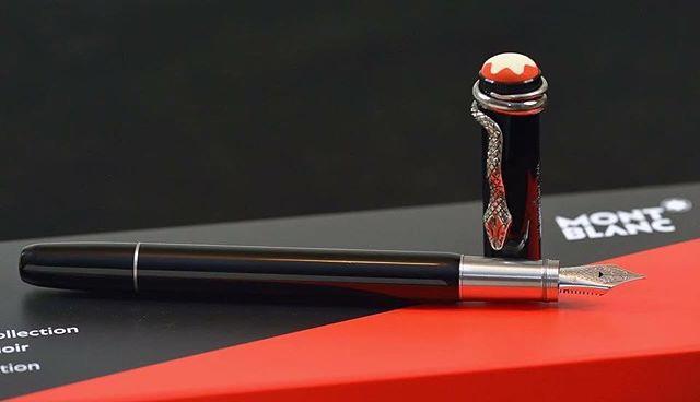 Coleção Rouge et Noir, da Montblanc (Foto: Divulgação)