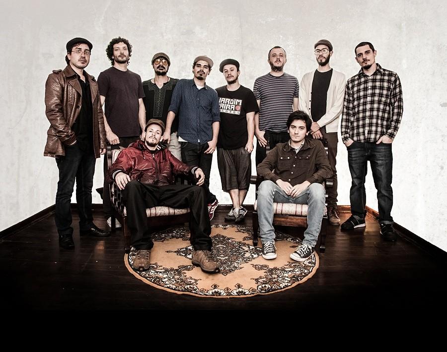 Nomade Orquestra é uma banda do ABC paulista (Foto: Divulgação)
