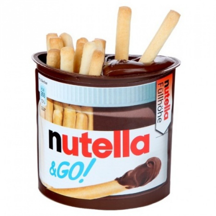 Nutella & GO!, novo produto da marca (Foto: Divulgação)