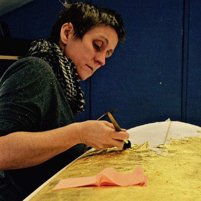 Designer Ellie Miller criou a prancha (Foto: Divulgação)