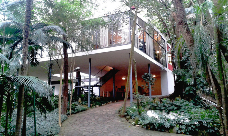 Casa de Vidro tem oficinas gratuitas (Foto: Divulgação)