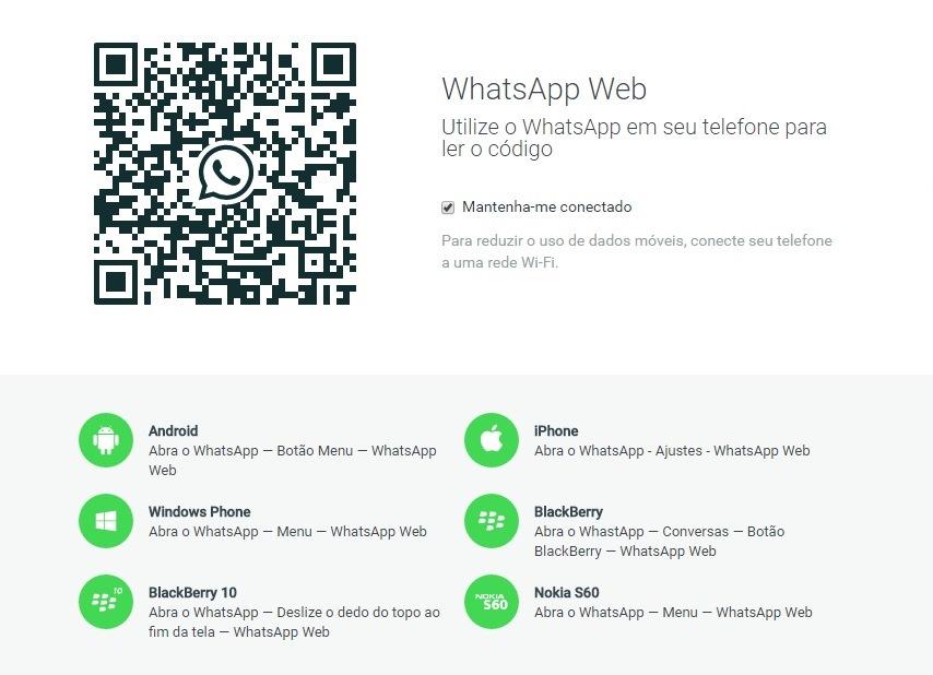 Para utilizar a nova versão é necessário escanear o QR code gerado com o celular (Foto: Reprodução)