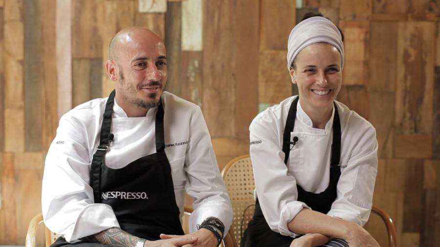 Daniel Redondo foi indicado ao prêmio Chef do Ano. Na foto, Daniel está ao lado de Helena Rizzo. (Foto: Divulgação)
