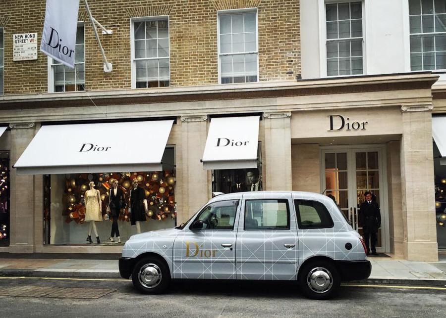 Dior lançou serviço de taxi (Foto de divulgação)