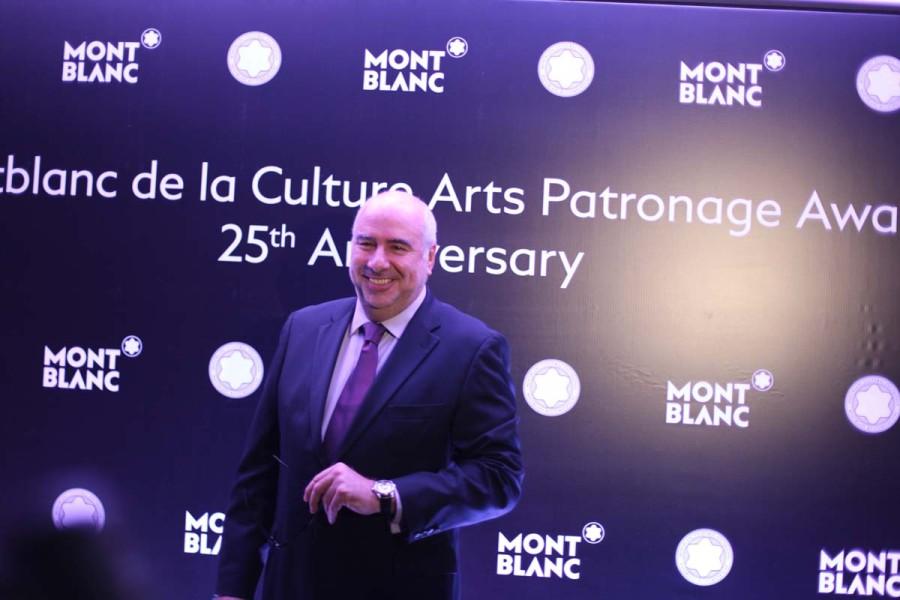 """""""Poder trazer essa premiação pela primeira vez no Brasil é um grande orgulho"""", direitor geral da MontBlanc, Alan dos Santos"""