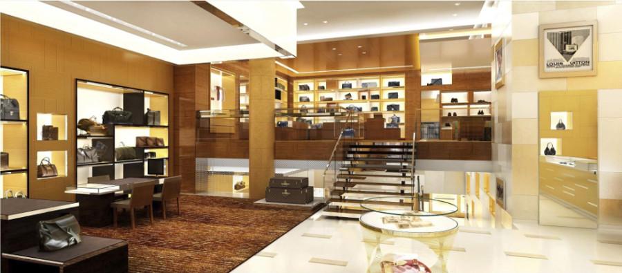 Loja da Louis Vuitton (Foto: Divulgação)