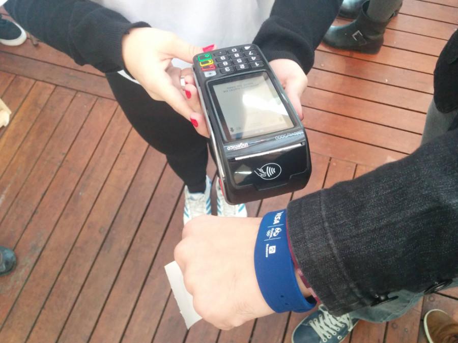 Pulseira Bradesco Visa substitui cartão de débito (Foto: Divulgação)