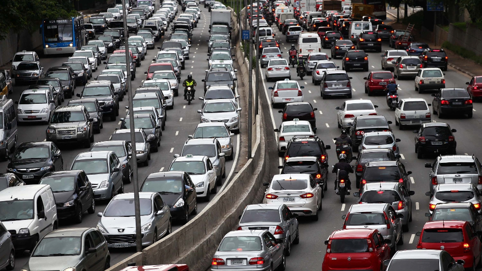 Brasil tem atualmente 4,5 milhões de automóveis, um para 4,4 habitantes (Foto: Divulgação)