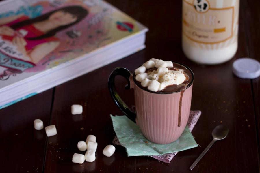 Chocolate quente com marshmallow (Foto: Divulgação)