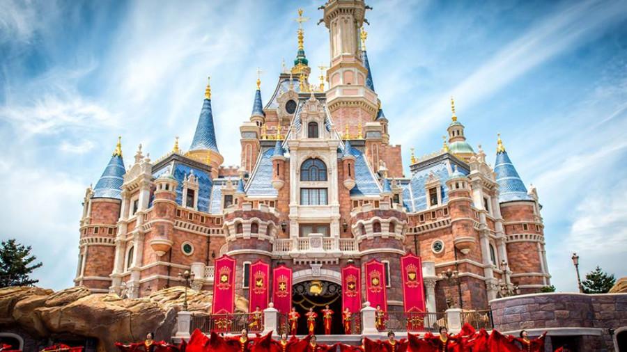 Disneyland de Xangai tem o maior castelo do mundo (Foto: Divulgação)
