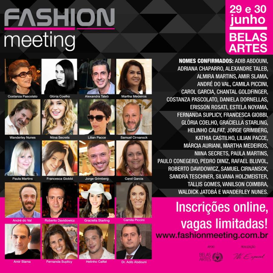 Fashion Meeting terá palestras com (Foto: Divulgação)