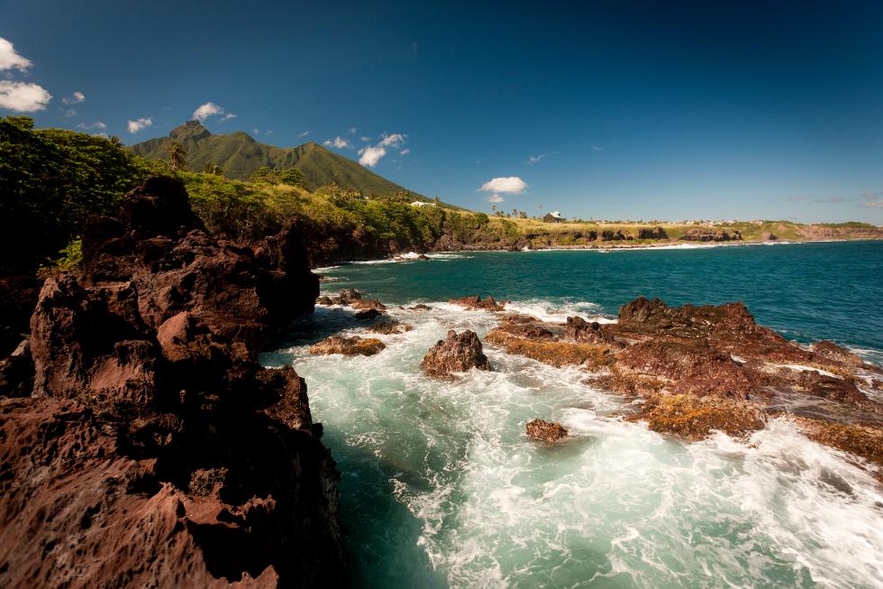 Ilha de Saint Kitts, no Caribe (Foto: Divulgação)