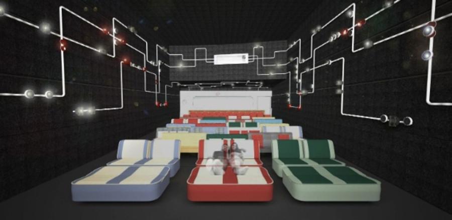 Simulação de cinema Drive-in (Foto: Divulgação)