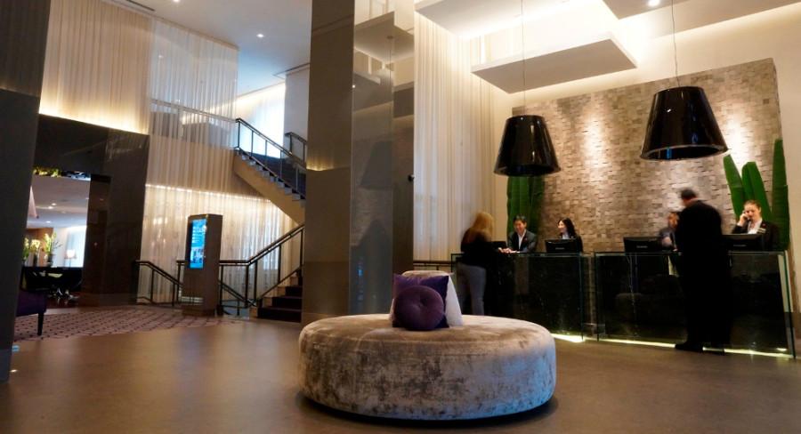 Recepção do Hotel InterContinental