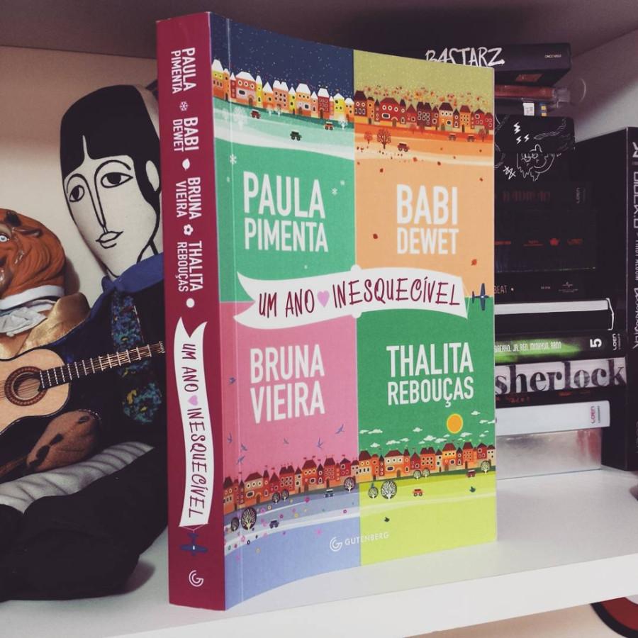 """Livro """"Um Ano Inesquecível"""" terá destaque na Bienal (Foto: Divulgação)"""