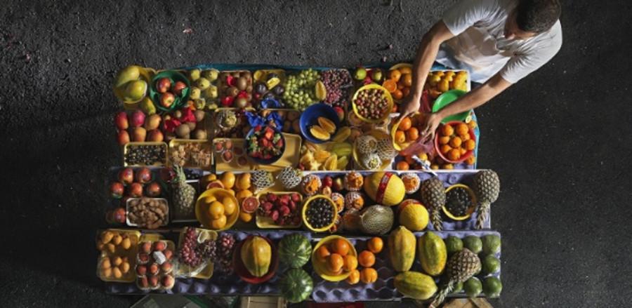 Núcleo de comidas de rua reúne imagens de feiras e praças da cidade (Foto: Divulgação)