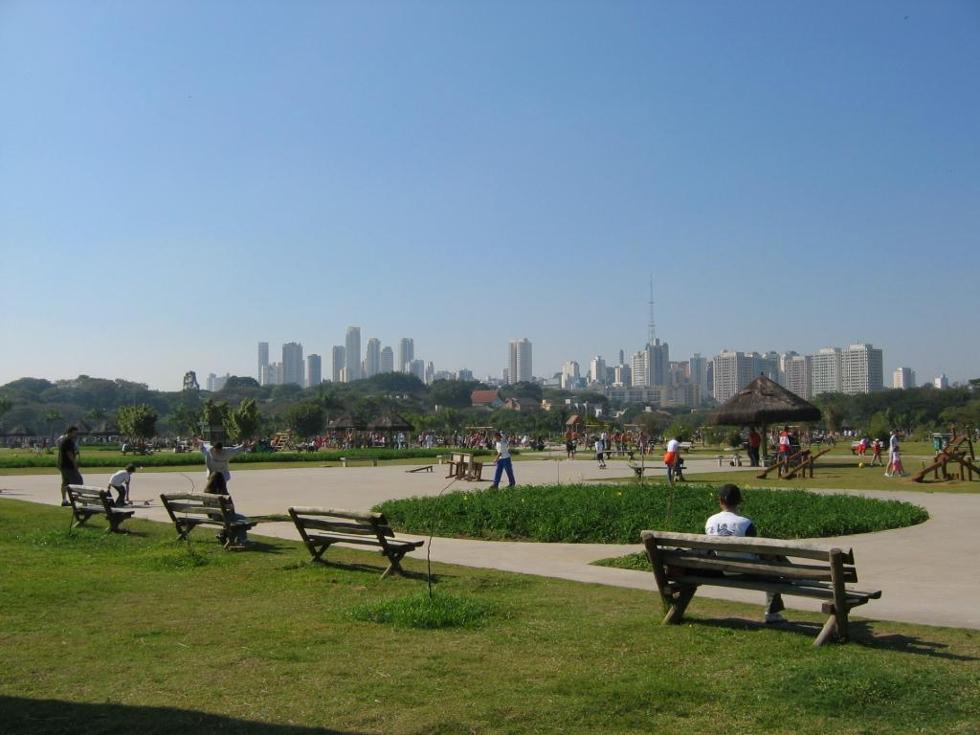 Parque está localizado próximo da Marginal Pinheiros (Foto: Divulgção)