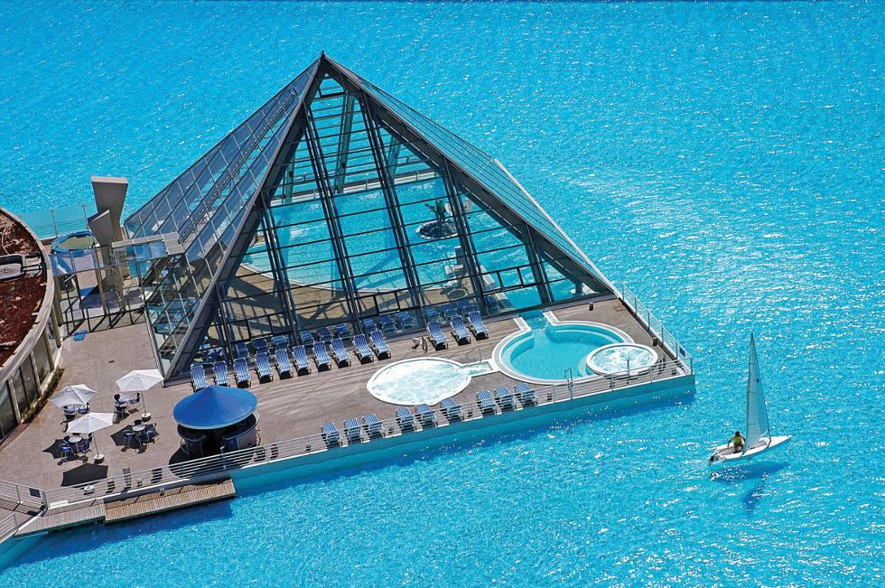 Maior piscina do mundo (Foto: Divulgação)