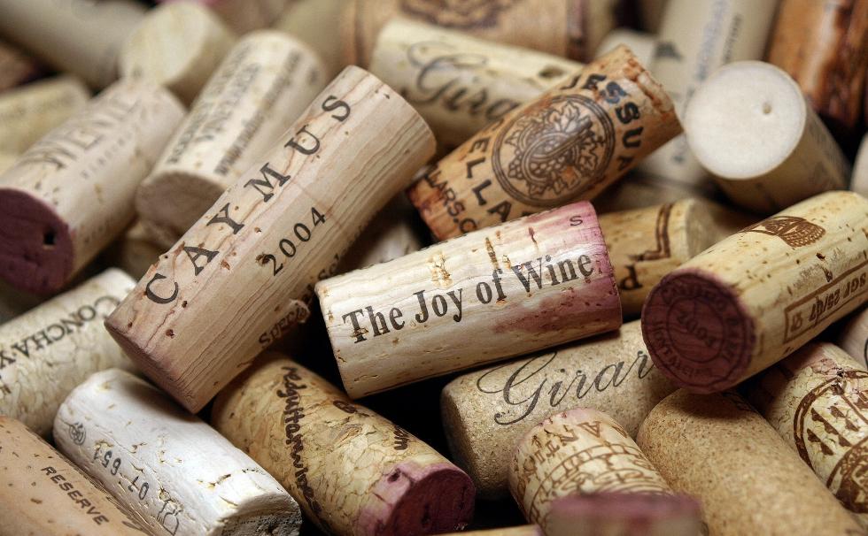 Rolhas de garrafa de vinho (Foto: Divulgação)