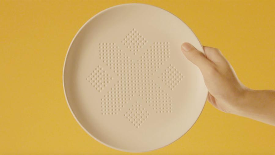 """""""Absorv Plate"""" é similar a uma esponja (Foto: Divulgação)"""
