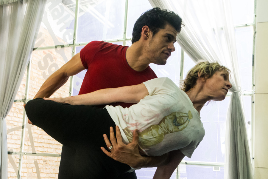 Thiago Soares e Deborah Colker (Foto: Divulgação)