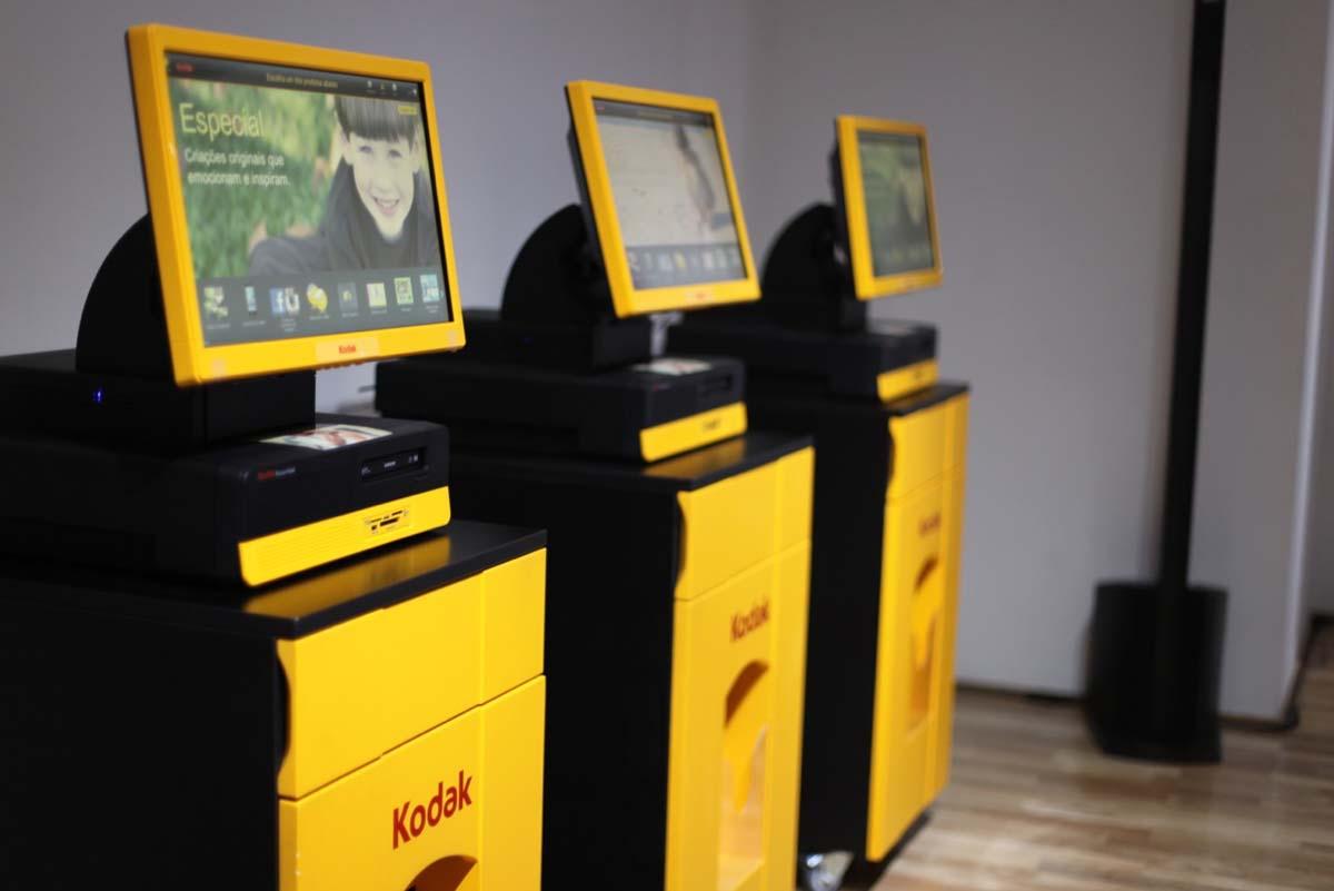 No computador e impressora do Kodak Kiosk, é possível imprimir as imagens em questão de segundos (Foto: Divulgação)
