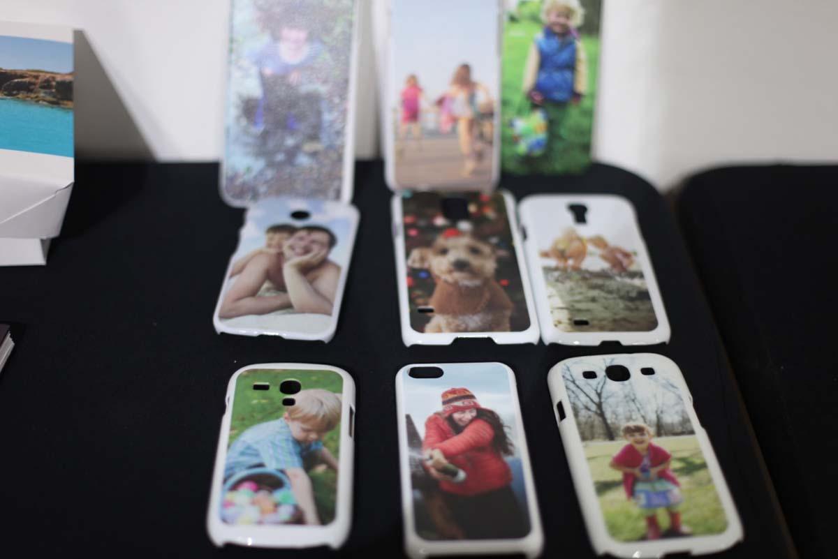 Capas de smartphones personalizadas (Foto: DIvulgação)