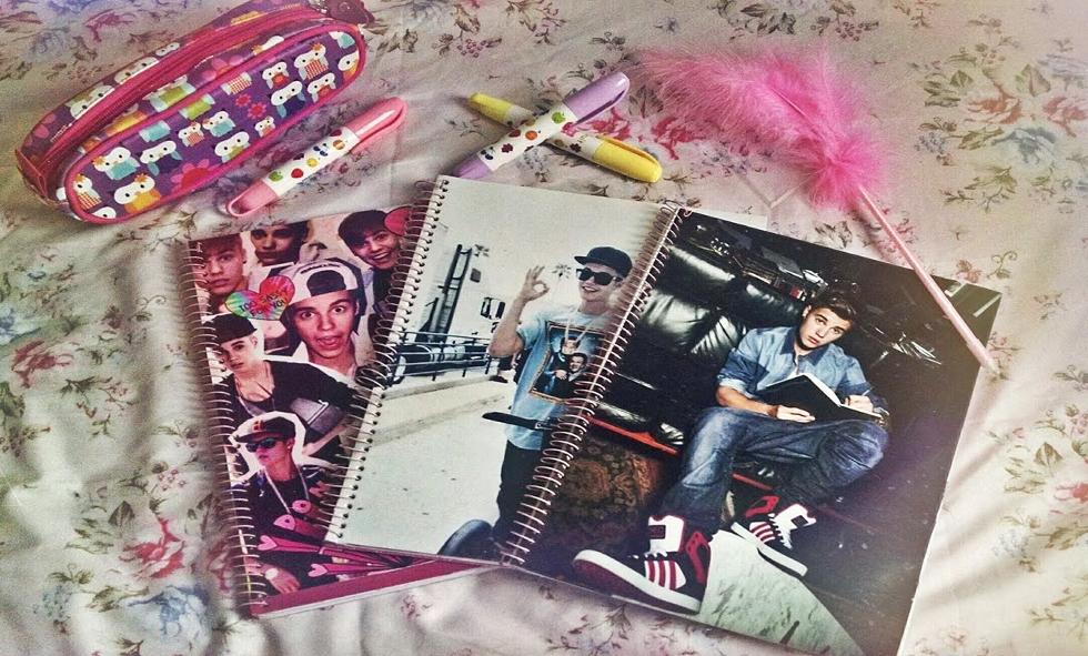 Cadernos personalizados (Foto: Divulgação)