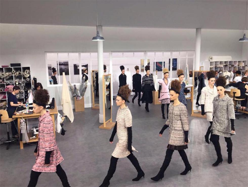 Coleção outono/inverno 2016 da Chanel (Foto: Divulgação)