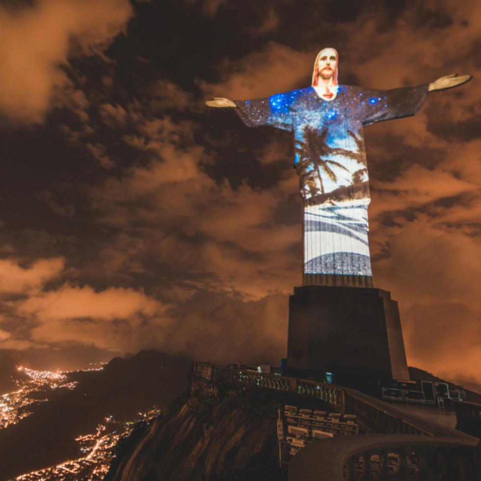 Cristo Redentor projetará imagens durante as Olimpíadas (Foto: Divulgação)