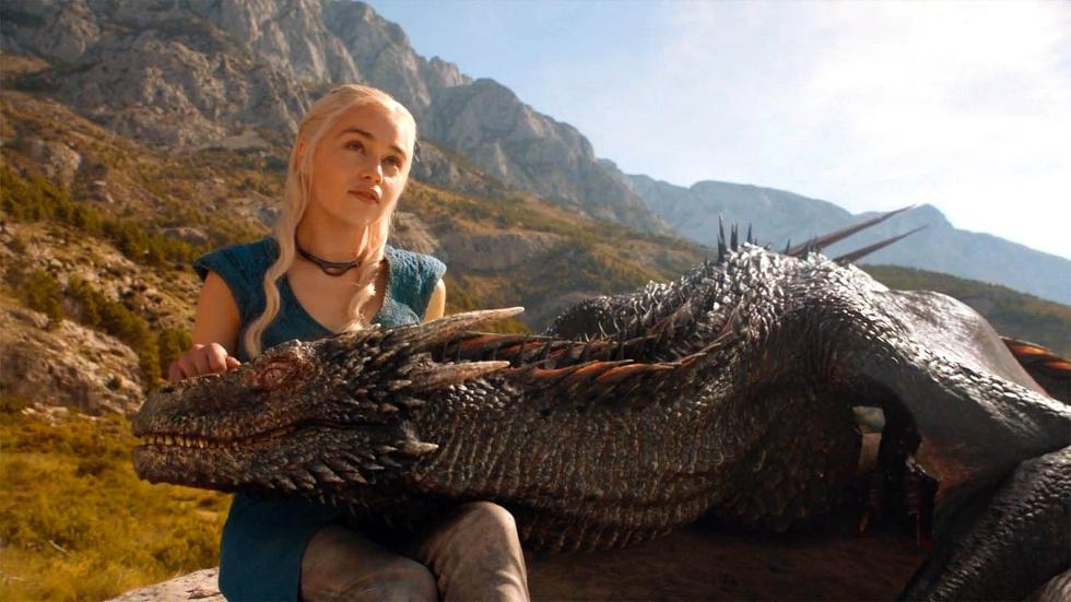 Danerys e Drogon em Meeren (Foto: Divulgação)
