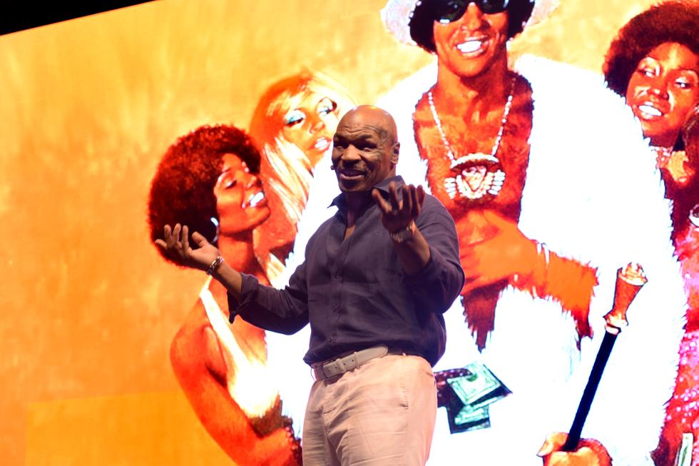 Show do Mike Tyson no Enjoy Conrad (Foto: Divulgação)