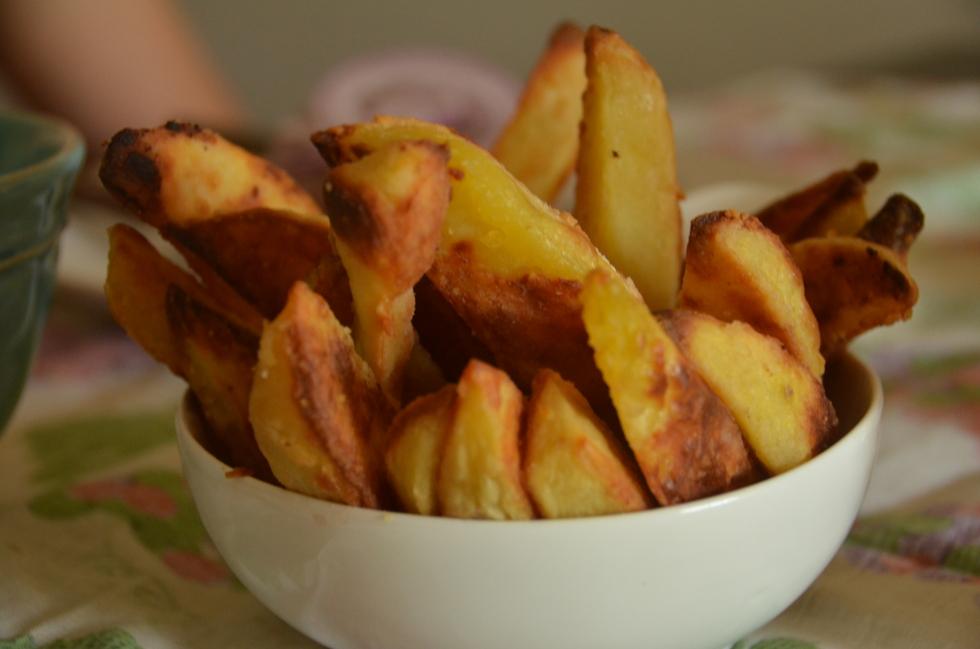 Batata rústica pode ser trocada pelas fritas do combo com sanduíche e refrigerante (Foto: Divulgação)