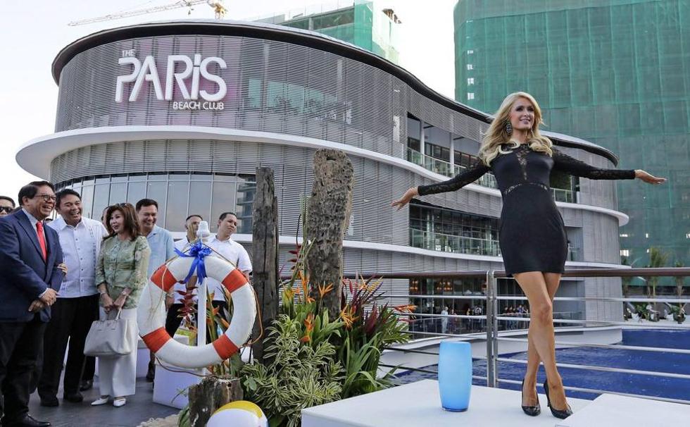 Novo projeto de Paris Hilton deve seguir linha 'Beach Club' (Foto: Divulgação)