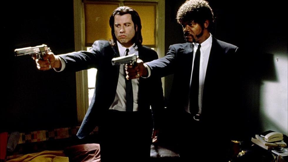 Cena de Pulp Fiction, filme dirigido por Tarantino (Foto: Divulgação)