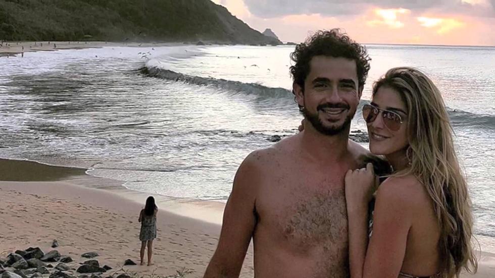 Filho do casal, Rocco, chega no início de 2016 (Foto: Divulgação)