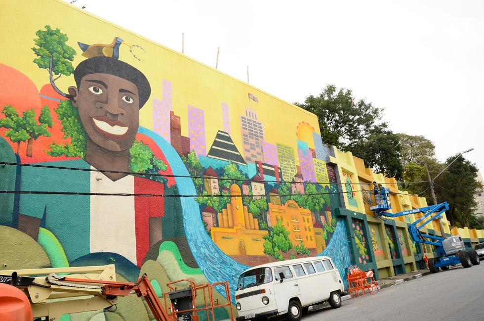 Arte de Rua/ Bixiga (Foto: Divulgação)