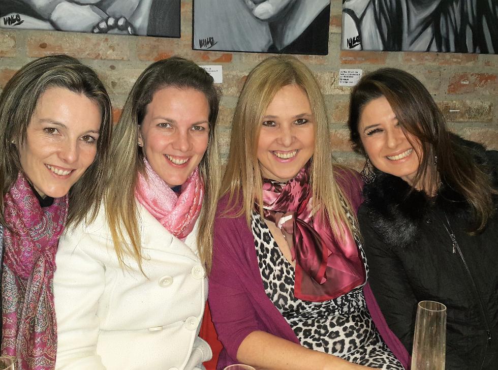 Daiana e Roberta Arnold, Silvina Luna e Marcia Refinsky (Foto: Divulgação)