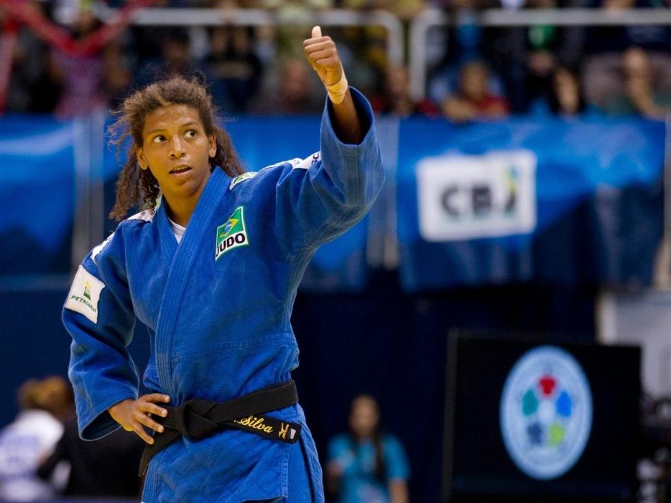Judoca brasileira conquista o primeiro ouro do país no Rio 2016 (Foto: Divulgação)