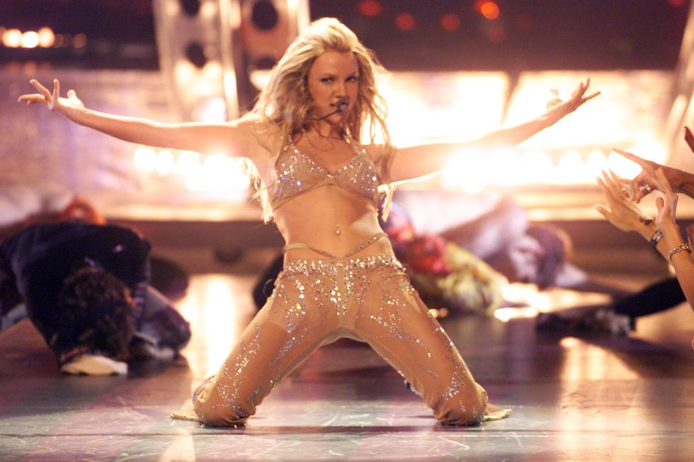 Britney em performance VMA 2000 (Foto: DIvulgação)