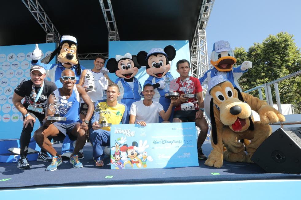 Vencedores da corrida de 8 km serão premiados com viagem a Walt Disney World Resort, na Flórida (Foto: Divulgação)