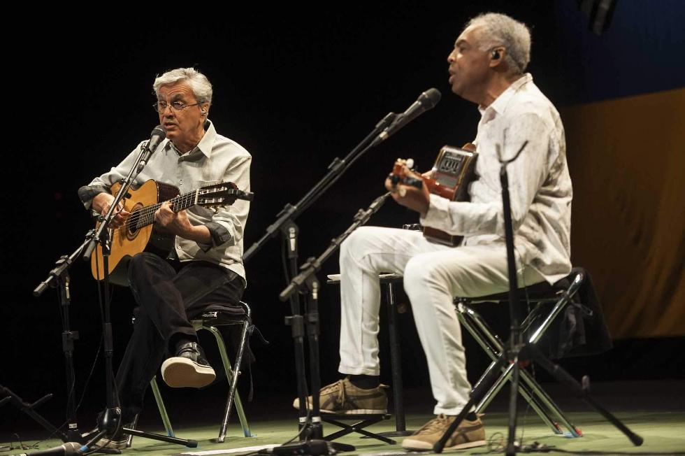 Caetano Veloso e Gilberto Gil (Foto: Divulgação)