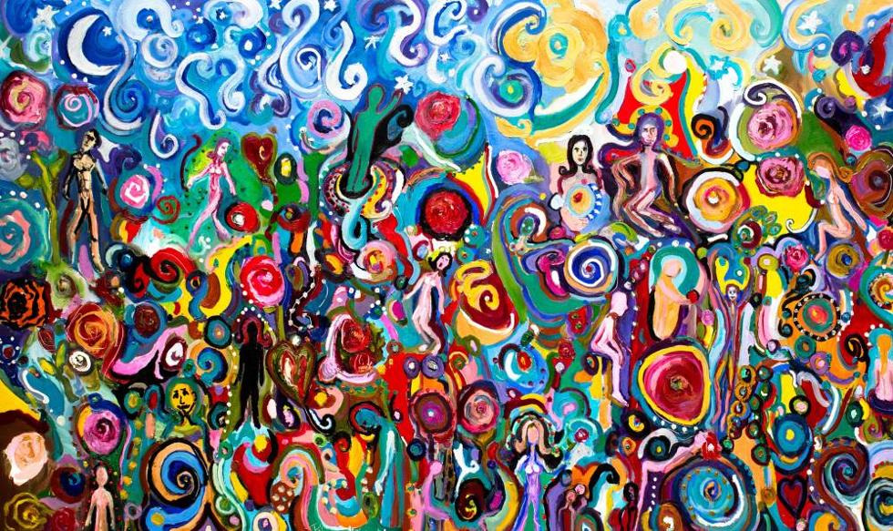 Painel Surreal (Foto: Divulgação)