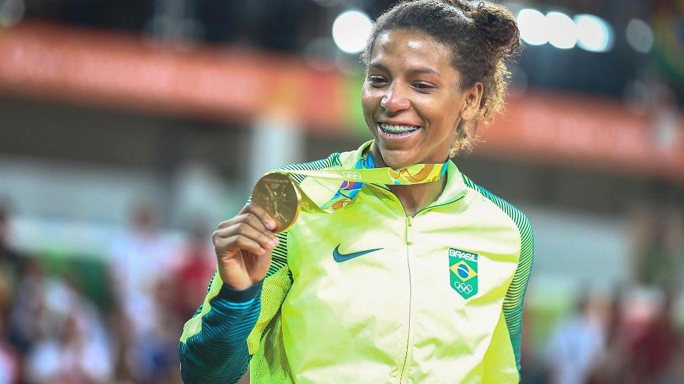 Rafaela Silva (Foto: Divulgação)