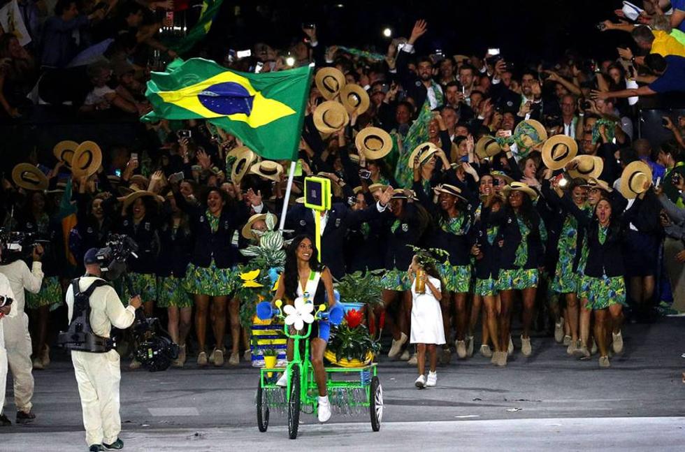 Cerimônia de abertura Rio 2016 (Foto: Divulgação)