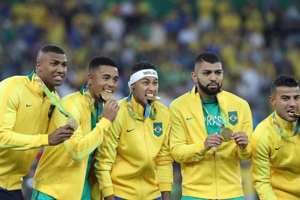 Seleção masculina de futebol (Foto: Divulgação)